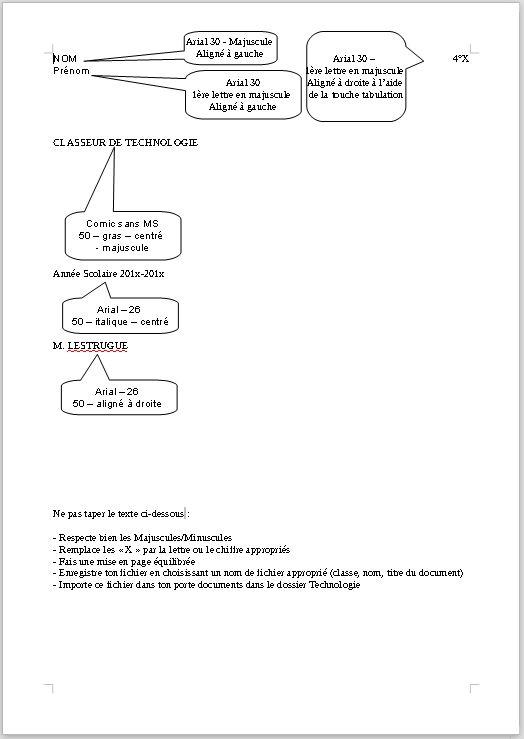 Réaliser La Page De Garde Du Classeur De 3 3ème Anatole